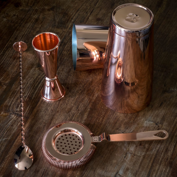 Copper Cocktail Shakers