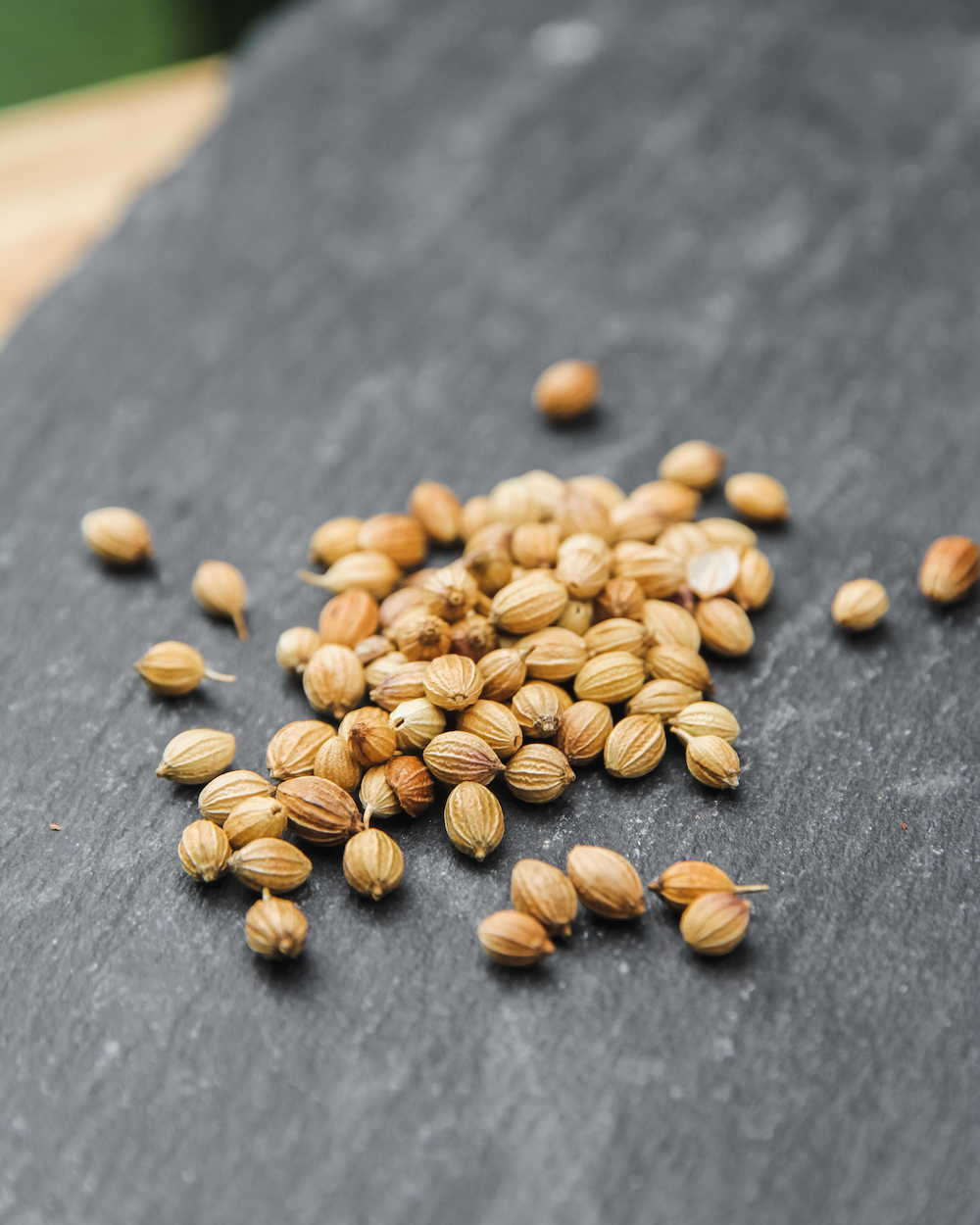 CORIANDER SEEDCoriander seeds bring a beautiful lemony citrus flavour to our traditional gin botanical base.